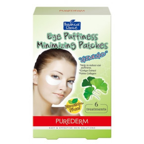 Eye Puffiness Minimizing Patches Ginkgo Paakių tinimą mažinanti kaukė