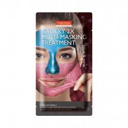 Purederm Galaxy 2X Multi-Masking Treatment Nulupama veido kaukė 6g+6g