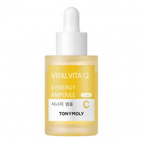Vital Vita 12 Synergy Ampoule Šviesinamoji veido odos priemonė