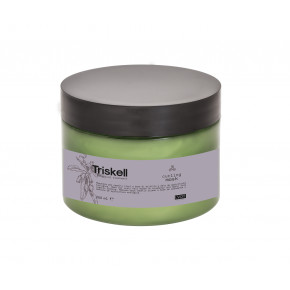 Triskell Botanical Treatment Curling Mask Kaukė garbanotiems plaukams 250ml