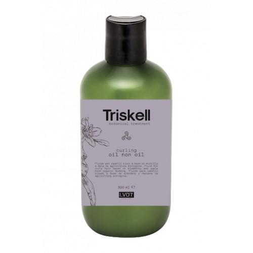 Triskell Botanical Treatment Curling Oil Non Oil Garbanotų plaukų aliejus 300ml