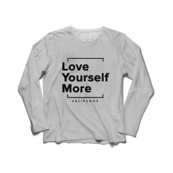 KlipShop Love Yourself More Džemperis