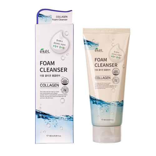 Ekel Foam Cleanser Collagen Valomosios veido putos su kolagenu 180ml