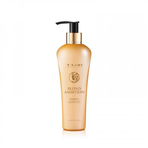 T-LAB Professional Blond Ambition Shampoo Šampūnas šviesiems plaukams 750ml