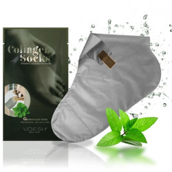 VOESH Collagen Socks Peppermint Kaukė pėdoms su pipirmėte 1 pora