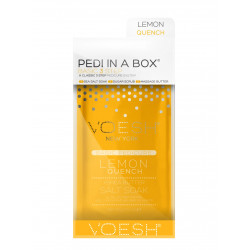 VOESH Basic Pedi In A Box 3in1 Lemon Quench Procedūra kojoms Rinkinys