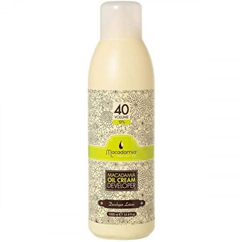 Macadamia Natural Oil Developer Lotion Oil Cream Oksidacinė emulsija 1000ml