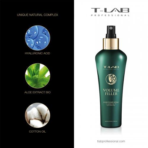 T-LAB Professional Natural Lifting Apimtį praradusių plaukų rinkinys