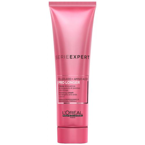 L'Oréal Professionnel PRO LONGER Renewing Lengths and Ends Cream Leave-In Nenuplaunamas kondicionierius 150ml