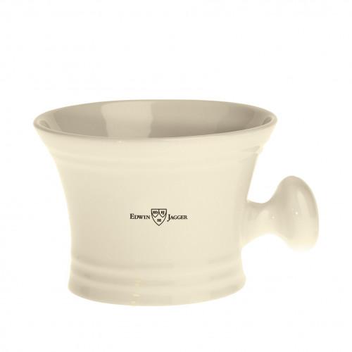 Edwin Jagger Shaving Bowl Porcelianinis skutimosi dubenėlis su rankenėle 1 vnt.