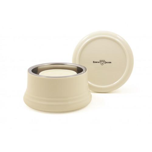 Edwin Jagger Shaving Bowl Porcelianinis skutimosi puodelis su dangteliu 1 vnt.