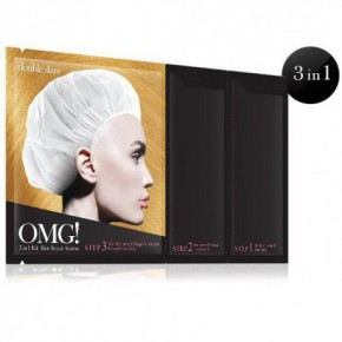 OMG 3 IN 1 KIT Hair Repair System Plaukų priežiūros priemonių rinkinys