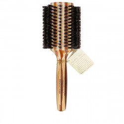 Olivia Garden Healthy Hair Bamboo Brush with Natural Boar Bristles Šepetys su natūraliais šerno šeriais 50mm