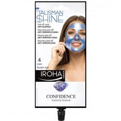 IROHA Talisman Collection Peel-Off Mask Blue Anti-Blemish Veido kaukė 25ml