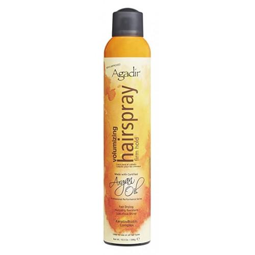 Agadir Argan Oil Volumizing Hair Spray Apimties teikiantis lakas plaukams 43g