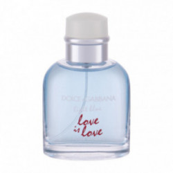 Dolce&Gabbana Light Blue Love Is Love Tualetinis vanduo vyrams 75ml, Originali pakuote