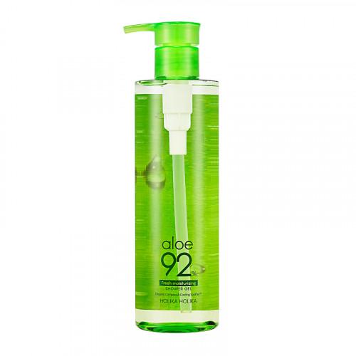 Holika Holika Aloe 92% Shower Gel Dušo želė su alavijų sultimis 390ml