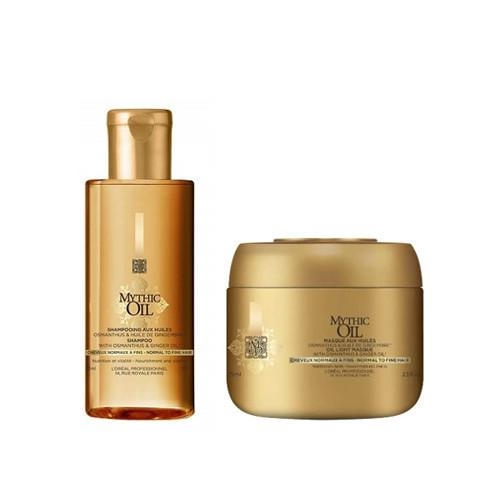 L'Oréal Professionnel Mythic Oil Mini Set Plaukus maitinantis rinkinys