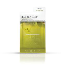 VOESH Pedi In A Box 4in1 Olive Sensation Procedūra kojoms Rinkinys