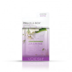 VOESH Deluxe Pedi In A Box 4 Step Jasmine Soothe Procedūra kojoms Rinkinys