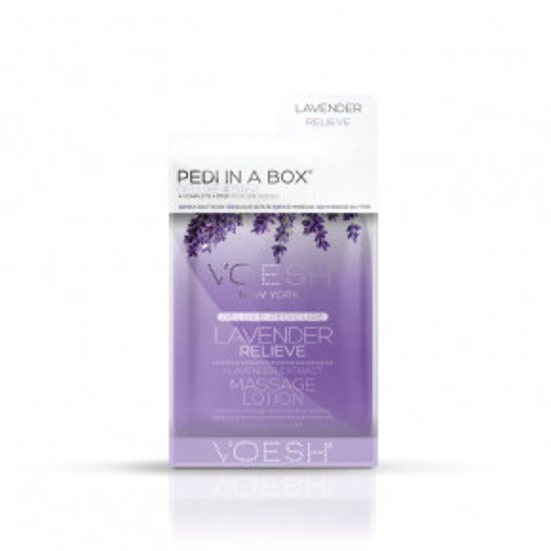 Pedi In A Box 4in1 Lavender Relieve Procedūra kojoms