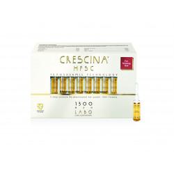 Crescina Transdermic Technology 1300 Man Plaukų ataugimą skatinančios ampulės vyrams 20amp.