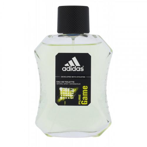 Adidas Pure Game Tualetinis vanduo vyrams 100ml, Originali pakuote