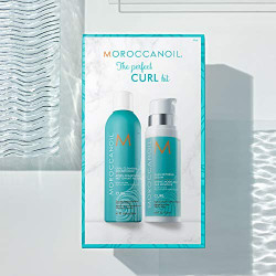 Moroccanoil The Perfect Curl Kit Tobulų garbanų rinkinys 1 Rinkinys