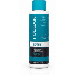 Foligain Rejuvenating Biotin Shampoo Atnaujinantis plaukų šampūnas su biotinu 473ml