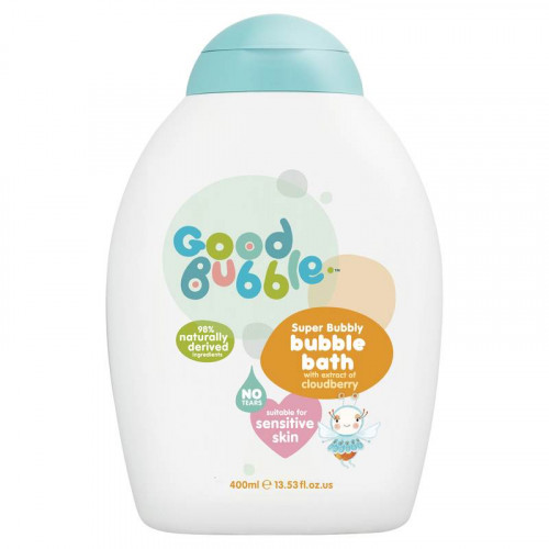 Good Bubble Super Bubbly Bubble Bath Vonios burbuliukai su tekšės ekstraktu 400ml