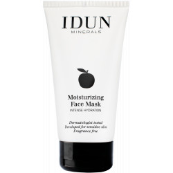 IDUN Moisturizing Face Mask Drėkinanti veido kaukė 75ml