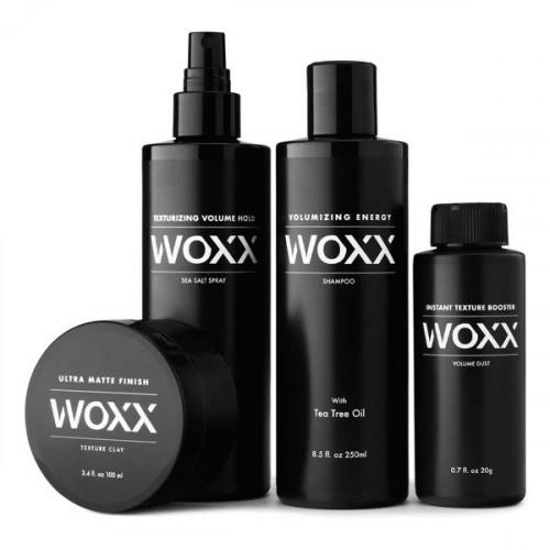 WOXX Quadruple Mens Set Keturių dalių plaukų priežiūros rinkinys vyrams