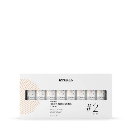 Indola Root Activating Lotion Plaukų augimą skatinantis losjonas 8x7ml