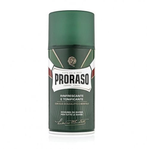 Proraso Green Tutte Le Barbe Shaving Foam Gaivinančios skutimosi putos 50ml