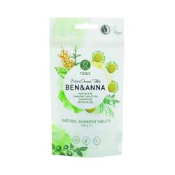 Ben&Anna Natural Shampoo Tablets Tonic Šampūno tabletės 120g