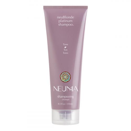 NEUMA neuBlonde Platinum Shampoo Šampūnas šviesiems plaukams 250ml