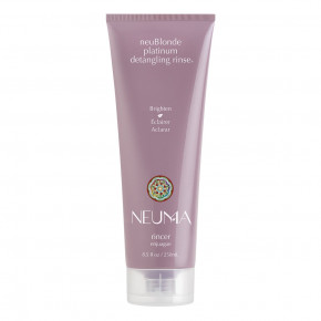 NEUMA neuBlonde Platinum detangling rinse Kondicionierius šviesiems plaukams