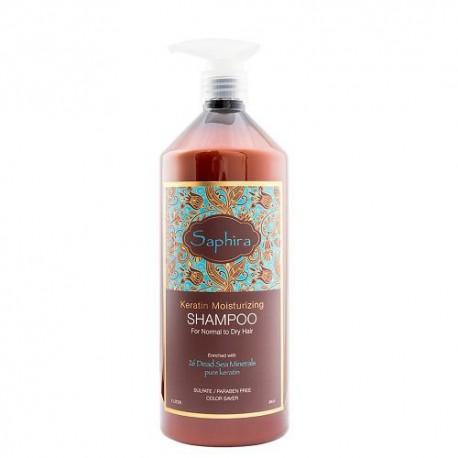 Saphira Keratin Moisturizing Drėkinamasis šampūnas plaukams 250ml