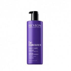 Revlon Professional Be Fabulous C.R.E.A.M. Daily Care Lightweight Šampūnas ploniems plaukams 250ml
