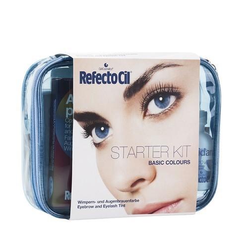 RefectoCil Starter Kit Startinis rinkinys antakių ir blakstienų dažymui