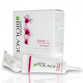 Matrix Biolage Colorlast Cera-Repair Dažytų plaukų koncentratas 10x10ml