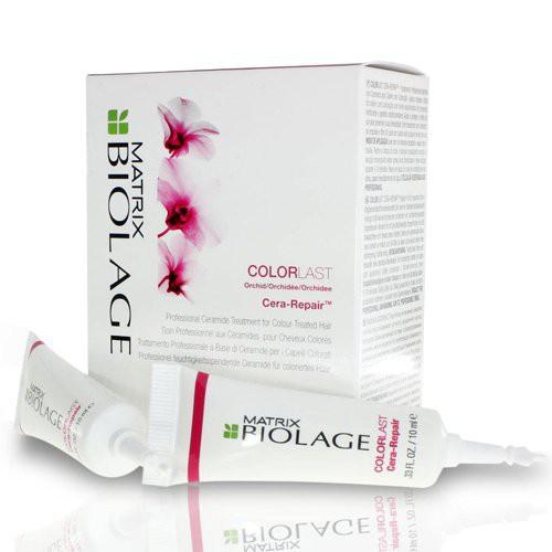 Biolage Colorlast Cera-Repair Dažytų plaukų koncentratas 10x10ml