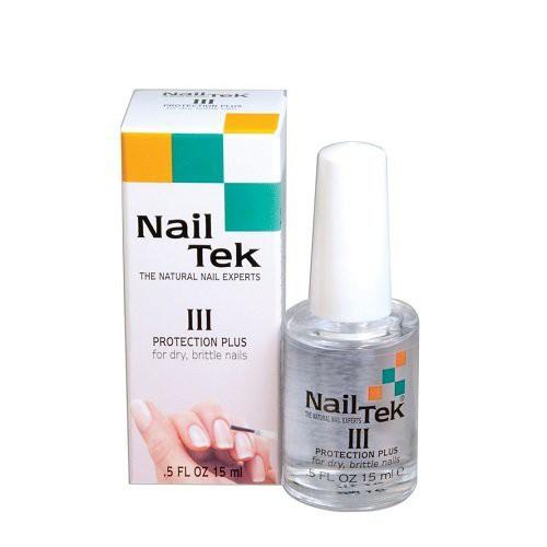 Nail Tek Protection Plus III Nagų stipriklis 15ml