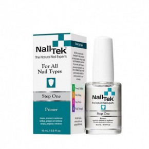 Nail Tek Step One Nagų lako pagrindas 15ml
