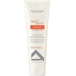 AlfaParf Milano Semi Di Lino Discipline Smoothing Cream Garbanotų plaukų formavimo kremas 150ml