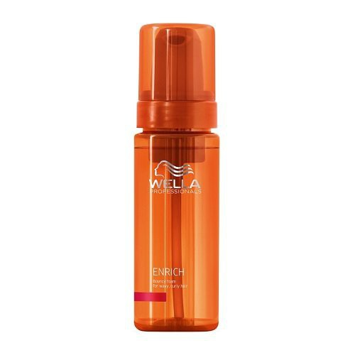 Wella Enrich Bouncy Foam Maitinančios putos garbanotiems plaukams 150ml