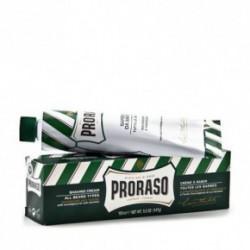 Proraso Green Sapone Da Barba Gaivinantis skutimosi veido kremas 150ml