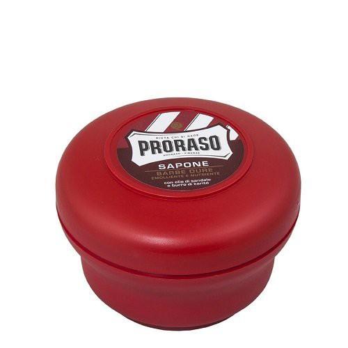 Proraso Red Shaving Soap Odą maitinantis skutimosi muilas 150ml