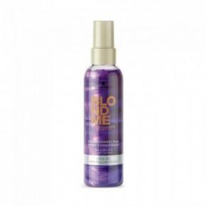 Schwarzkopf BlondMe Cool Ice Color Enhancing Atspalvį paryškinantis purškiamas plaukų kondicionierius (šalto ledo) 150ml