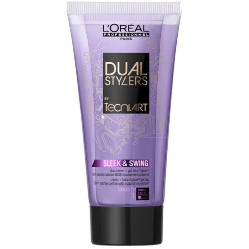 L'Oréal Professionnel Tecni Art Sleek & Swing Dvigubo poveikio nepaklusnių plaukų formavimo priemonė 150ml